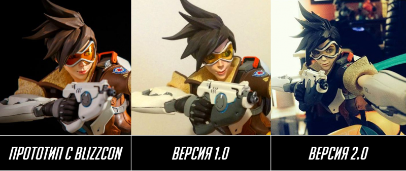 Tracer Statue preview