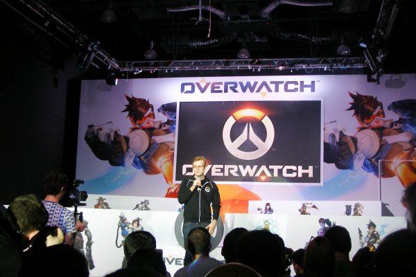 Ли Спаркс на Overwatch All-Stars